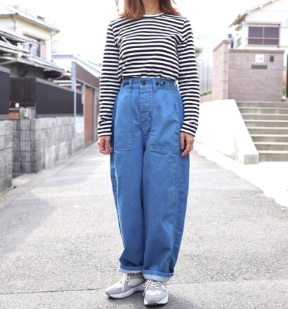 Ordinary fits JAMES PANTS(BLU)