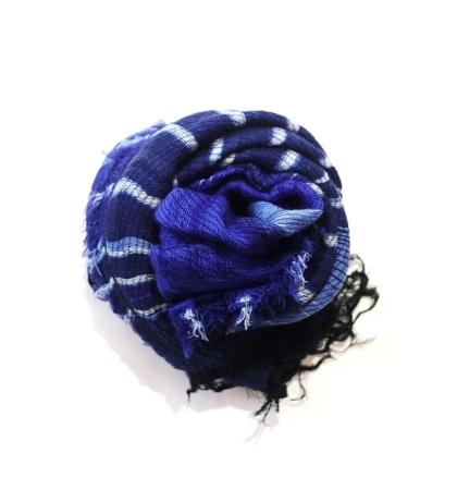 tamaki niime roots shawl wool×cotton